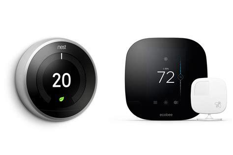 smart thermostats nest vs ecobee3 time
