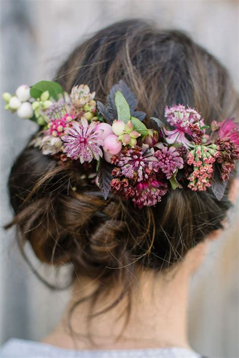 Best 25 Flowers In Hair Ideas On Pinterest Flower Hair