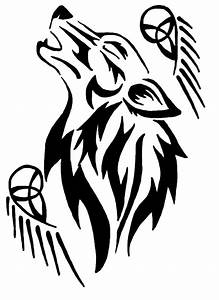 Tribal Wolf Tattoo by Eruraina on DeviantArt