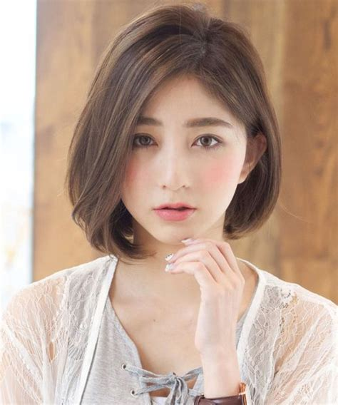 new cute short bob hairstyles 2018 for japanese and korean