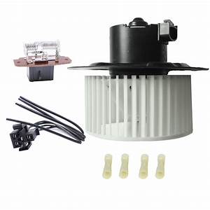 Heater Blower Motor W   Resistor Kit For Ford Explorer