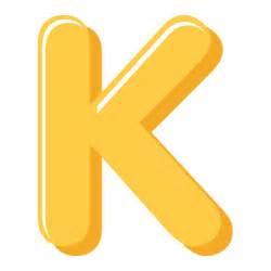 Graffiti Alphabet Letter K