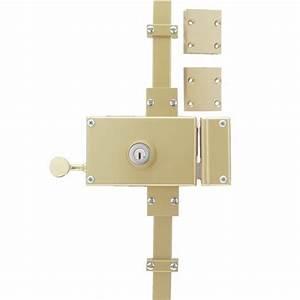 Serrure 3 Points : serrure en applique horizontale 3 points keso omega ~ Premium-room.com Idées de Décoration