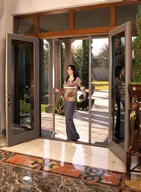 french patio doors  screens sliding glass install