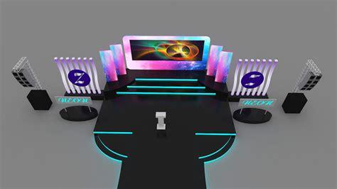 event stage design  model max