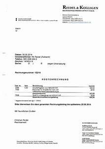 Rechnung Anwalt : rechnung ~ Themetempest.com Abrechnung