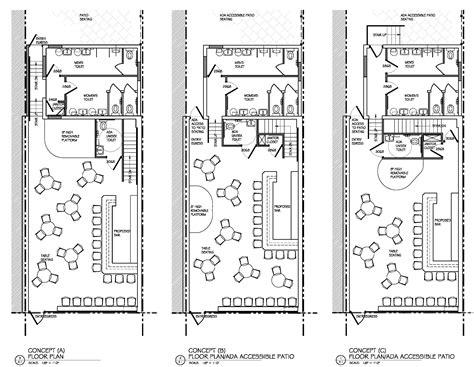 home design plans matchbox restaurant bar commercial redevelopment