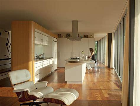 architektenhaeuser offener ess und wohnbereich bild