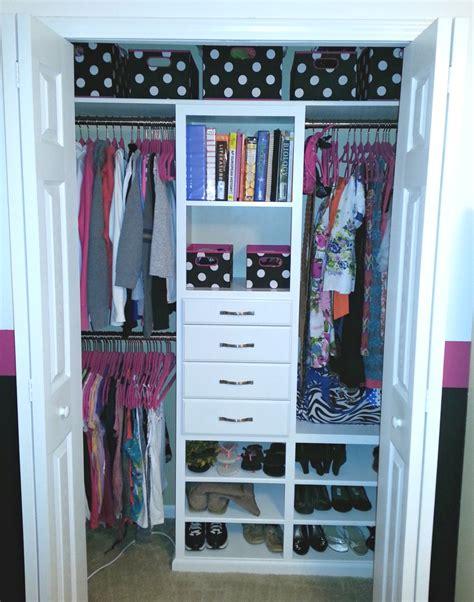 Small Reachin Closet Organization Ideas  The Happy Housie