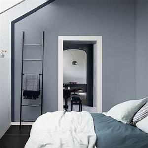 1000 idees sur le theme salles de bains gris bleu sur With idee couleur chambre parentale