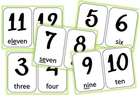 sequence anglais numbers cycle  caracolus autres