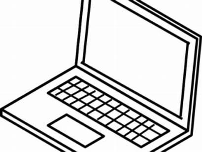 Computer Laptop Clipart Clip Transparent Pinclipart Webstockreview