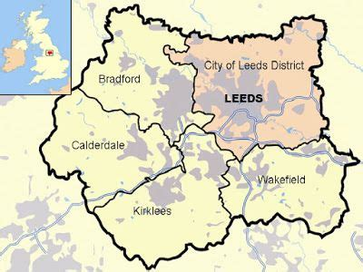 Leeds - A to Z of Places I Have Visited | Map of great ...