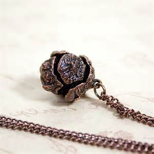 sold antiqued copper encased conifer cone sycamoon jewellery