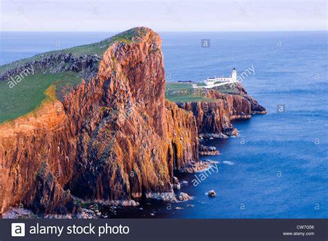 Neist Point Lighthouse Isle Of Skye Highland Scotland