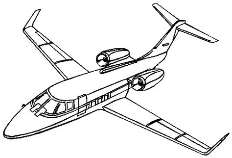 airplane coloring pages coloringpagescom