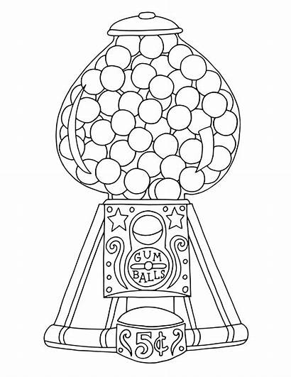 Gumball Coloring Machine Printable Colouring Machines Disney