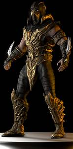 Mortal Kombat Scorpion Injustice