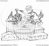 Bbq Sauce Chicken 1080px Tub Pig Chef Bull Cartoon Female Pouring Clipart Royalty Outlined Lafftoon Vector Kid 2021 sketch template