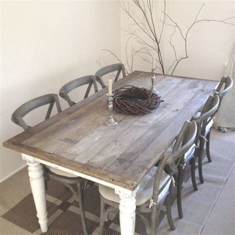 white rustic kitchen table set best 25 shabby chic dining ideas on shabby
