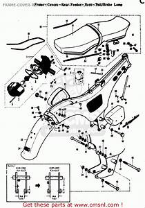 Suzuki K10 K11 K15 1968 Usa  E03  Frame