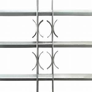 Grille De Defense Fenetre Pas Cher : acheter grille de d fense ajustable 3 traverses pour fen tre de 500 650 mm pas cher ~ Nature-et-papiers.com Idées de Décoration