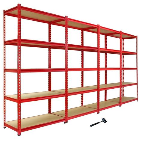 Shelving And Storage Units by 4 Heavy Duty Shelving Racking Garage 5 Tier Storage Units