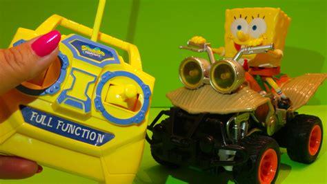 Remote Control Spongebob Atv Vehicle Usa Toy Unboxing