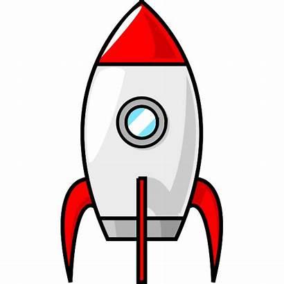 Rocket Cartoon Moon Ship Clip Clipart Vector