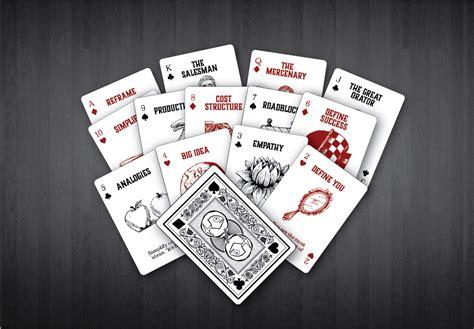 design deck playable inspiration   card design