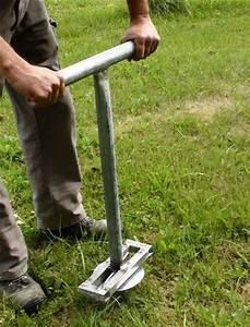 Comment Fixer Un Poteau Bois Au Sol : comment fixer ma serre tunnel au sol ~ Dailycaller-alerts.com Idées de Décoration