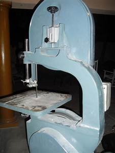 Changing a wood cutting bandsaw to metal cutting Need help