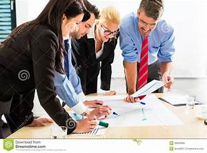 Business - People In Office Working As Team Stock Image ...