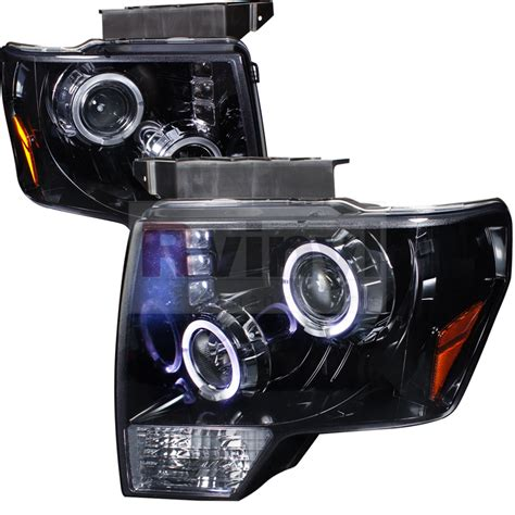 f150 halo lights spec d tuning 174 ford f 150 2009 2012 halo black projector