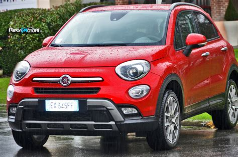 Fiat 500x Cross Plus Reportmotoriit