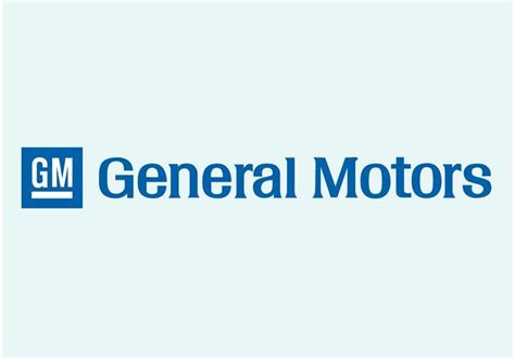 General Motors Owns What Companies by General Motors Logo Free Vector Stock