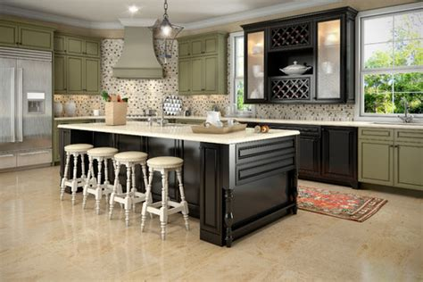 What Do Think About Multi Color Kitchen Design?