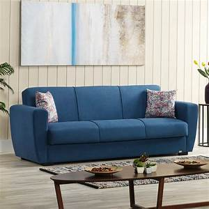 Sofa B Ware Online : buy dolce fabric sofa bed 3 seater with storage blue ~ A.2002-acura-tl-radio.info Haus und Dekorationen