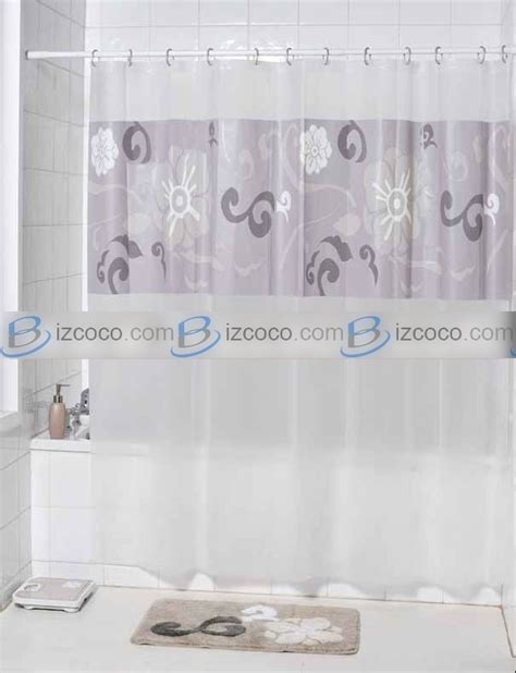 printed fabric shower curtain and bath accessory china