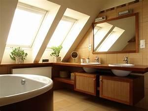 salle de bains sous les combles amenagement ooreka With salle de bains combles