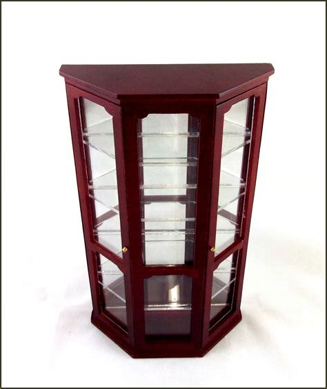 Glass Curio Cabinets With Lights Home Design Ideas