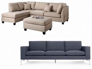 sectional vs sofa homeveritycom With sectional couch vs sofa