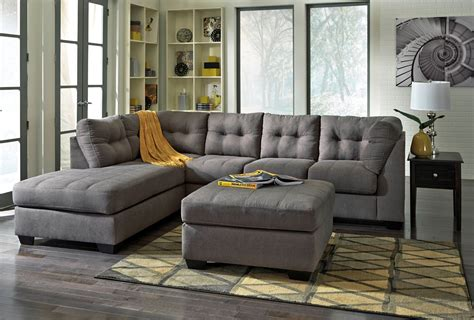 Maier Charcoal Laf Sectional From Ashley (45200-16-67