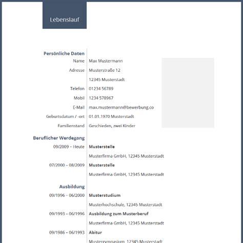 Lebenslauf Vorlage Kostenlos by Lebenslauf Vorlage Kostenlos Dokument Blogs
