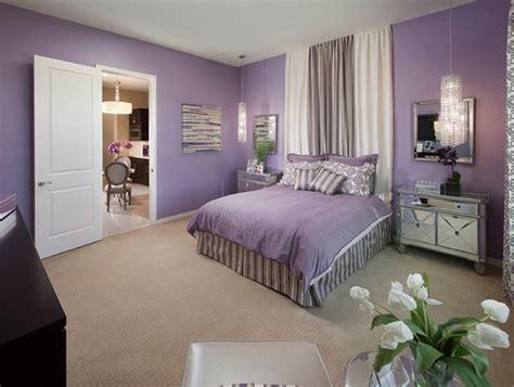 chambre violet et beige chambre violette 20 idées décoration pour un chambre