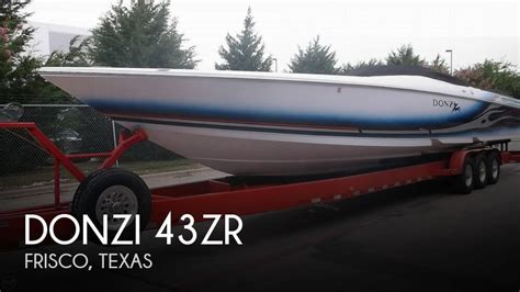 Performance Boats For Sale Texas by Donzi 43zr For Sale In Frisco Tx For 225 000 Pop Yachts