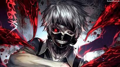 Ghoul Kaneki Tokyo Ken Anime Wallpapers Goul