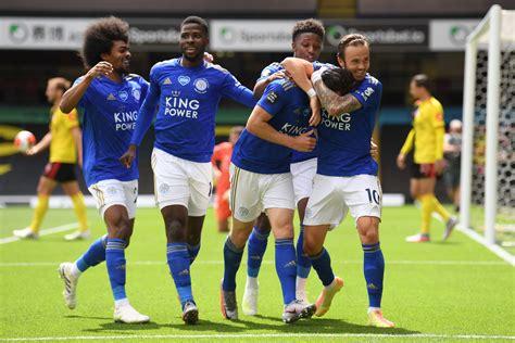 Tottenham Hotspur Vs Leicester City Soccer 19 July 2020 ...