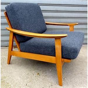Fauteuil Vintage Scandinave : fauteuil scandinave en h tre ann es 50 design market ~ Dode.kayakingforconservation.com Idées de Décoration