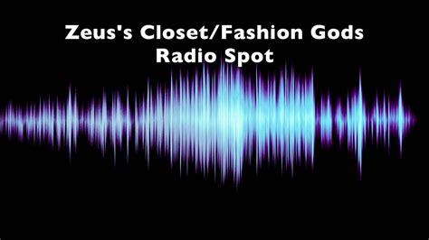 Zues Closet by Zeus S Closet Radio Spot